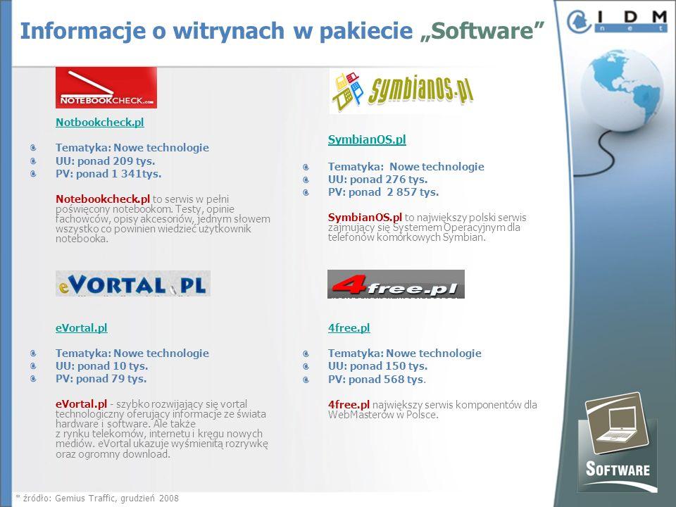 Notbookcheck.pl Tematyka: Nowe technologie UU: ponad 209 tys.