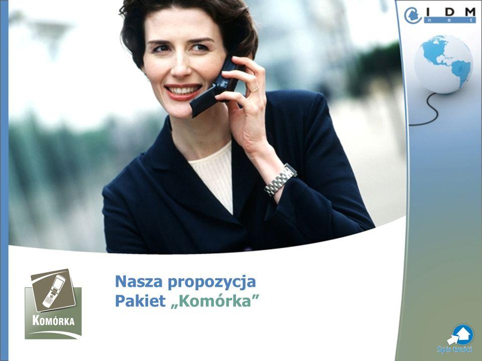 IDMnet proponuje swoim klientom wyjątkowy pakiet witryn poświęconych telefonii komórkowej – Komórka.