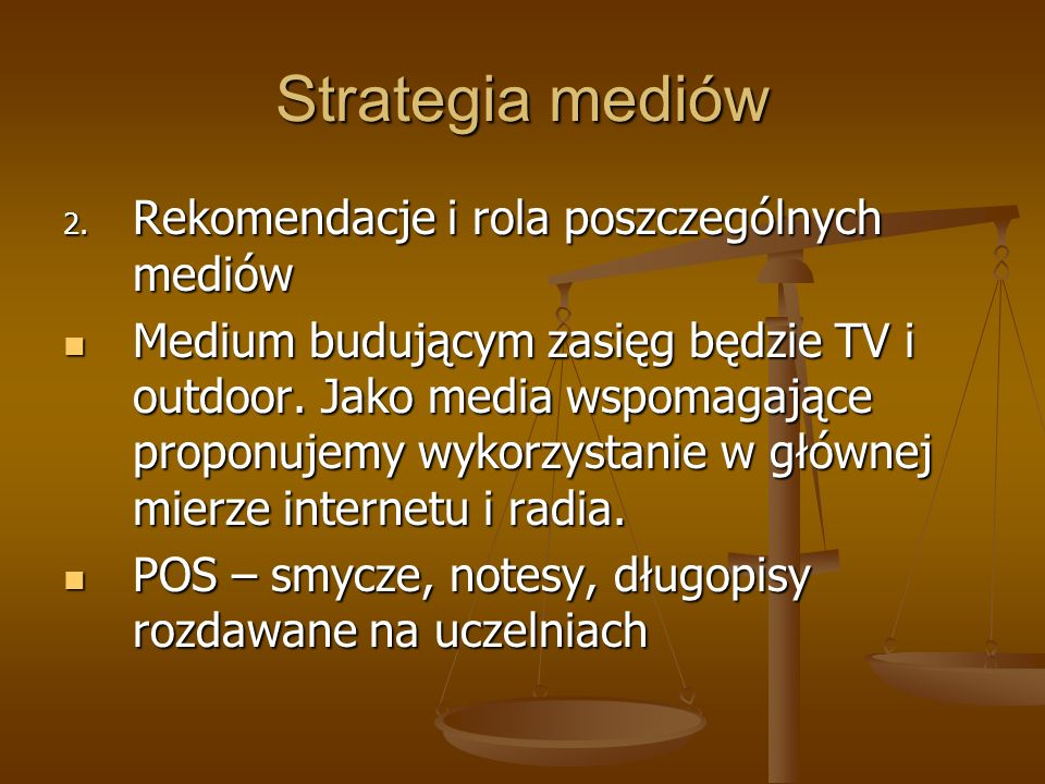 Strategia mediów 2.