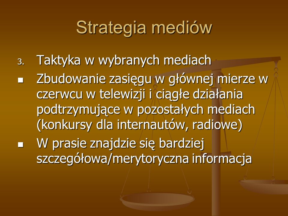Strategia mediów 3.