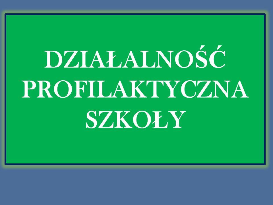 DZIA Ł ALNO ŚĆ PROFILAKTYCZNA SZKO Ł Y