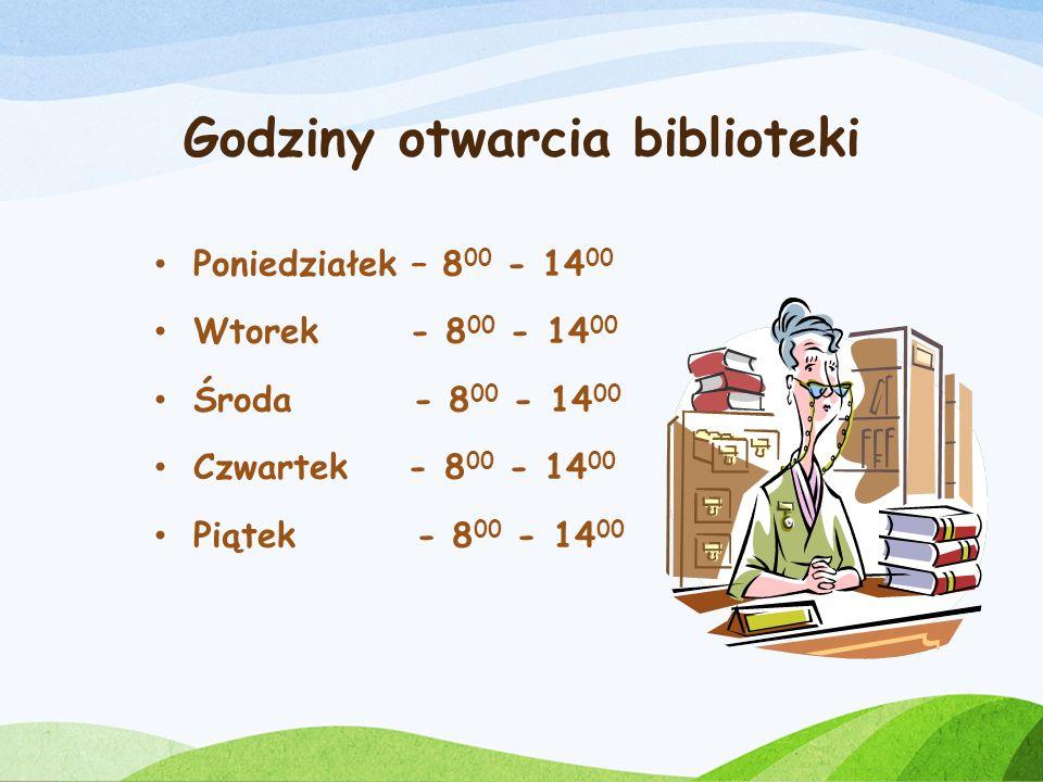W bibliotece: - chętnie cię widzimy - nie stawiamy stopni - do niczego nie zmuszamy W bibliotece możesz: - wybierać i wypożyczać książki - czytać czas