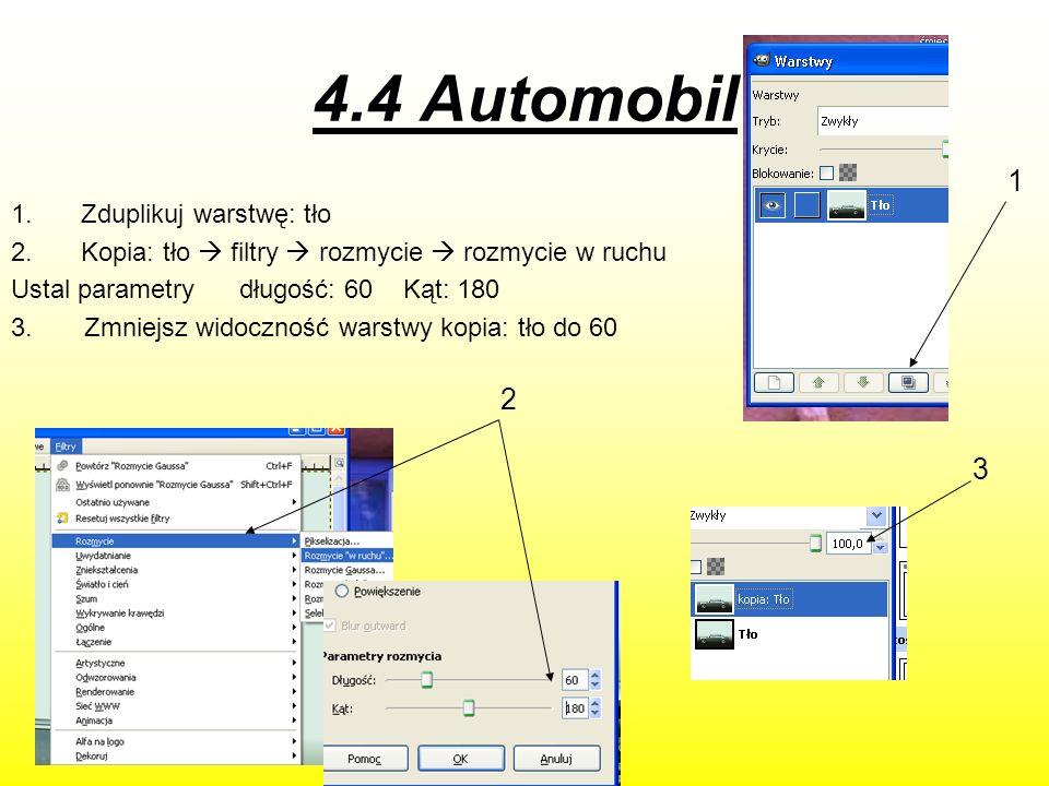 C.d 4. Dodaj 2 napisy a) Automobil b) Wypożyczalnia samochodów 4 a) b)