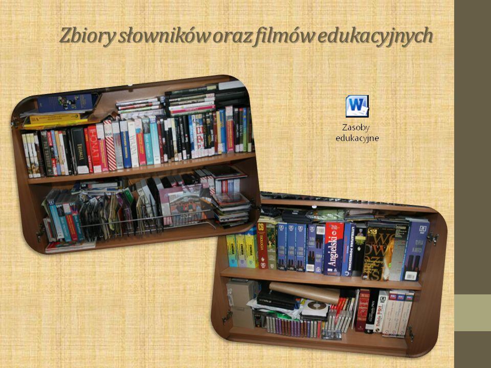 Zbiory słowników oraz filmów edukacyjnych