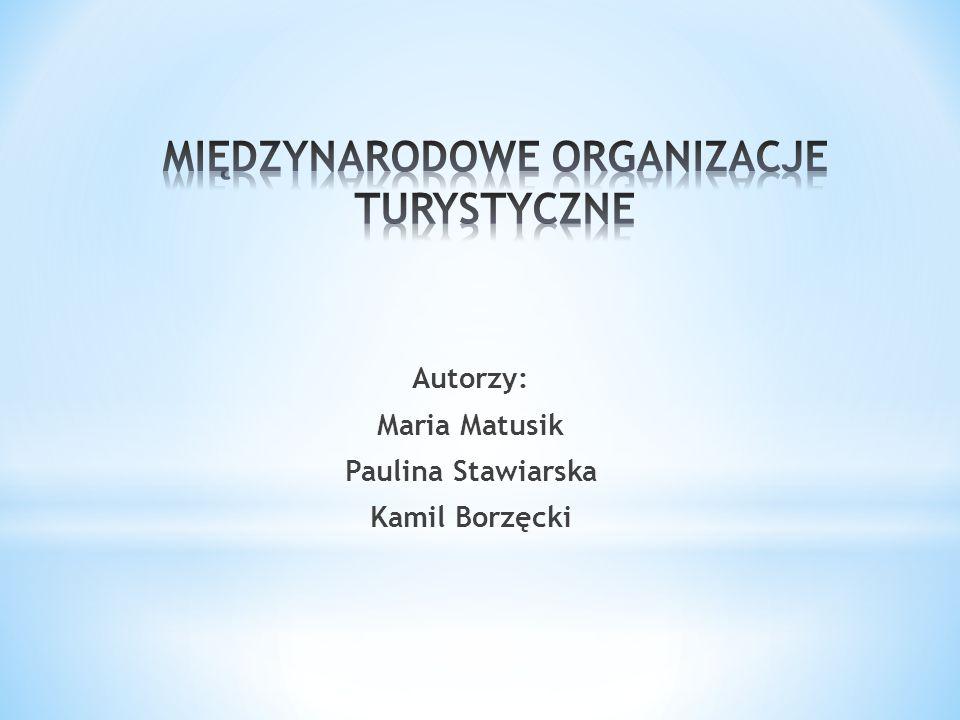 Autorzy: Maria Matusik Paulina Stawiarska Kamil Borzęcki