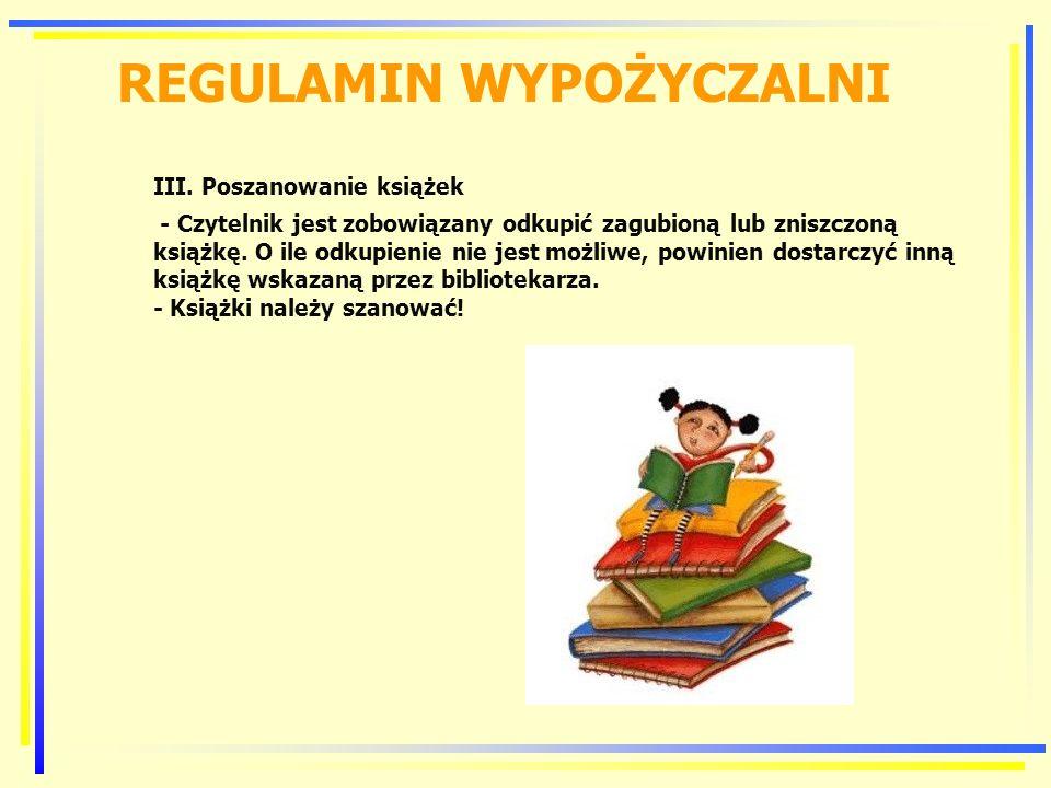 REGULAMIN CZYTELNI I.