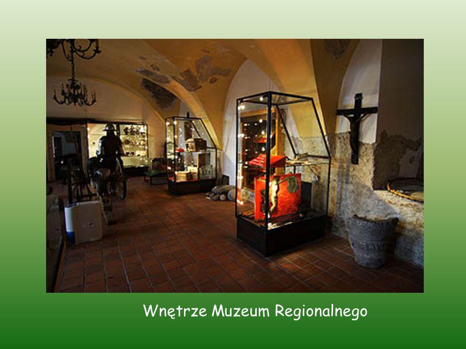 Wnętrze Muzeum Regionalnego