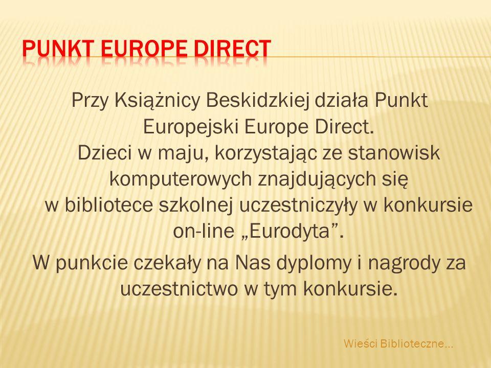 Przy Książnicy Beskidzkiej działa Punkt Europejski Europe Direct.