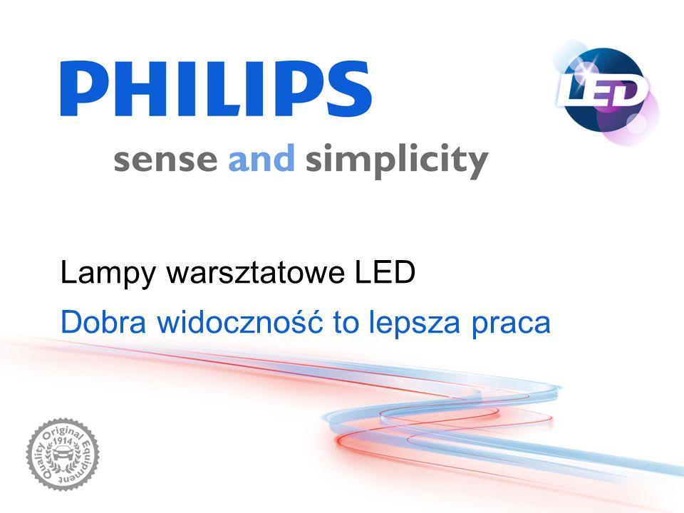 Lampy warsztatowe LED Dobra widoczność to lepsza praca