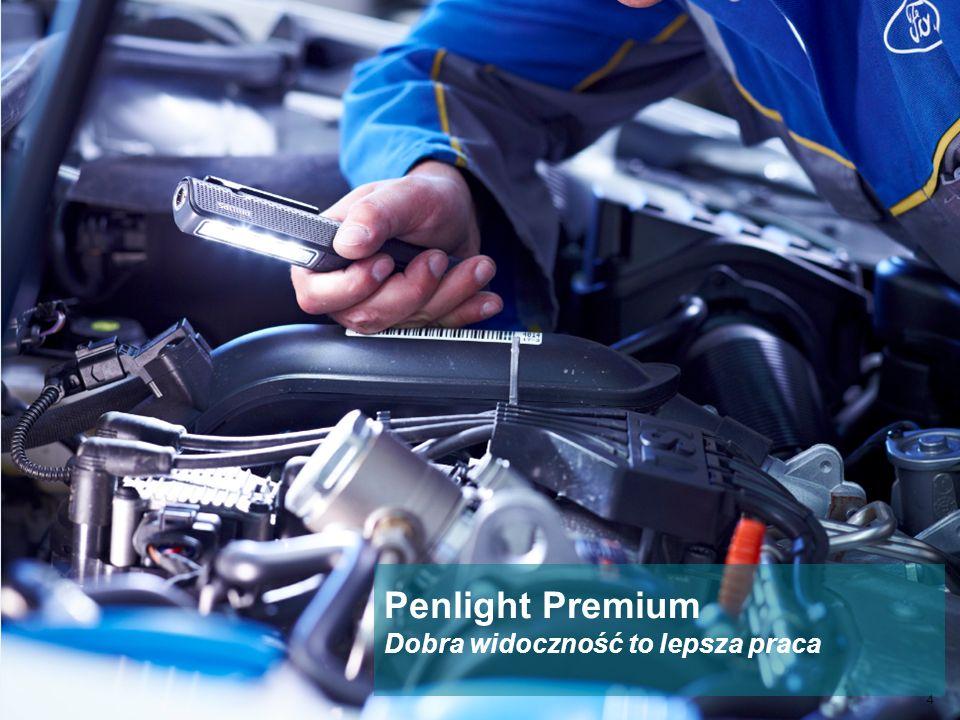 Materiał poufny Oświetlenie motoryzacyjne 4 Penlight Premium Dobra widoczność to lepsza praca