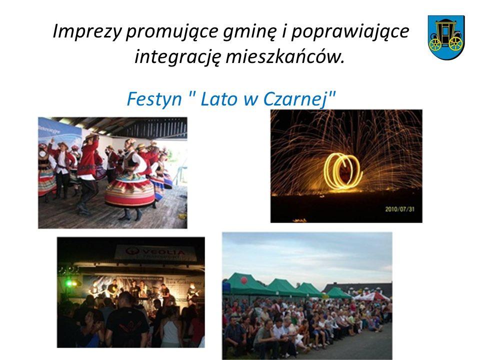 Imprezy promujące gminę i poprawiające integrację mieszkańców. Festyn