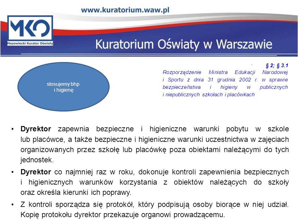 Podstawy prawne Ustawa o systemie oświaty (t.j.Dz.