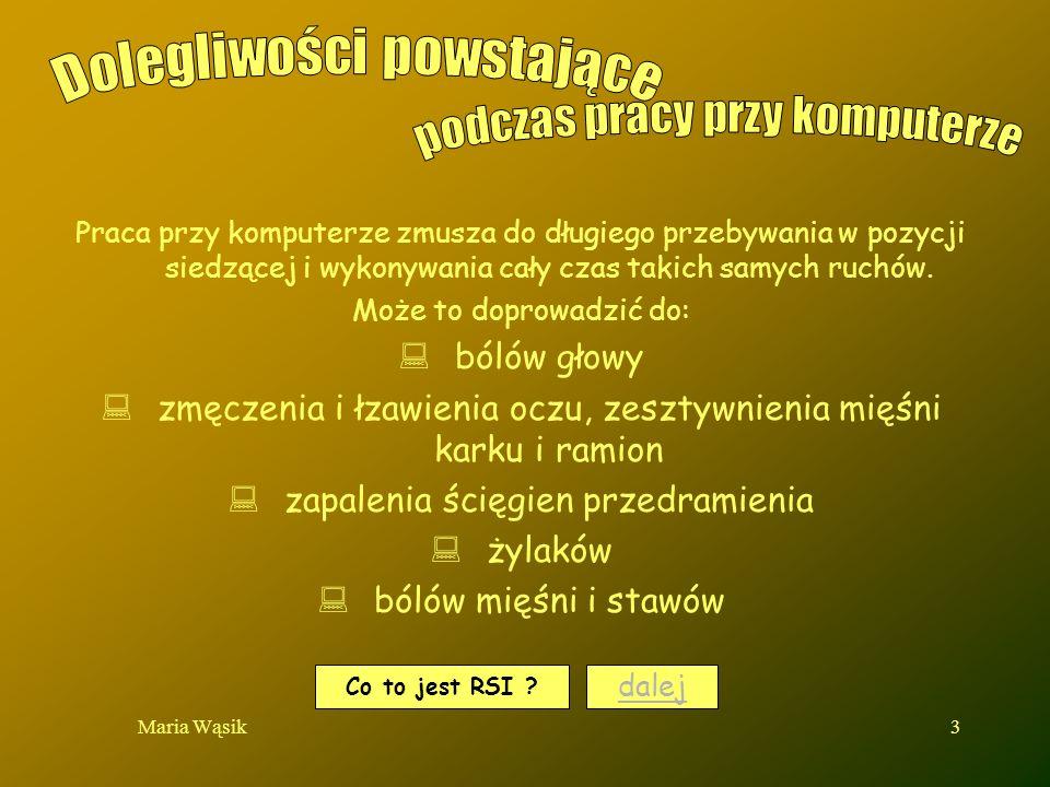 Maria Wąsik4 dalej