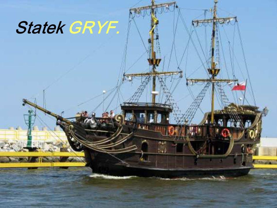 Statek GRYF.