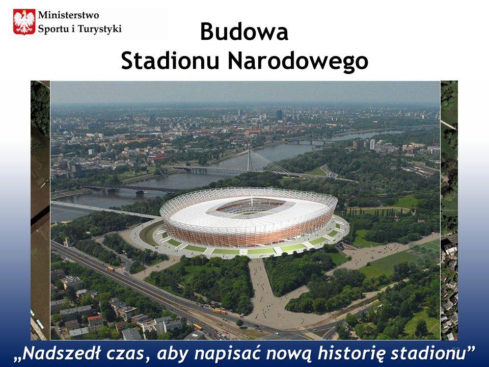 Budowa Stadionu Narodowego 22 Nadszedł czas, aby napisać nową historię stadionuNadszedł czas, aby napisać nową historię stadionu