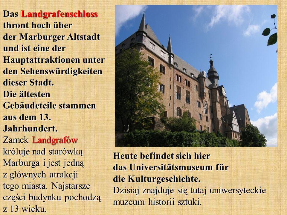 Heute befindet sich hier das Universitätsmuseum für die Kulturgeschichte.