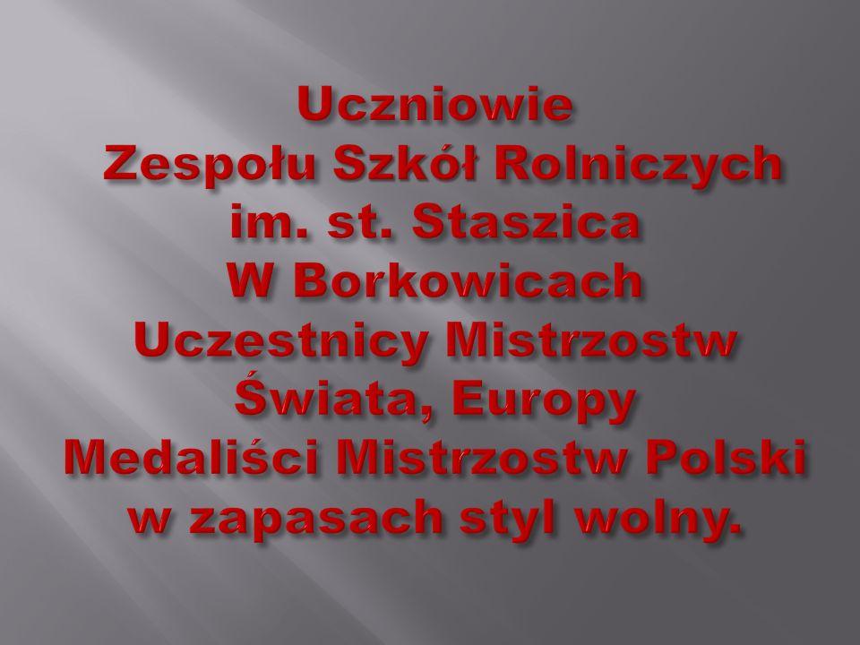 PAWLIKOWSKI RAFAŁ BRĄZOWY MEDAL 76kg.Mistrzostwa Polski Zrzeszenia L.Z.S.