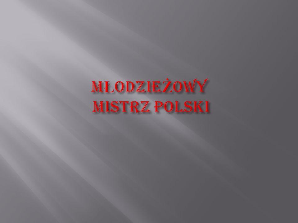 PIZON SEBASTIAN ZŁOTY MEDAL 120kg.Młodzieżowe Mistrzostwa Polski Brzeg Dolny 2003r.
