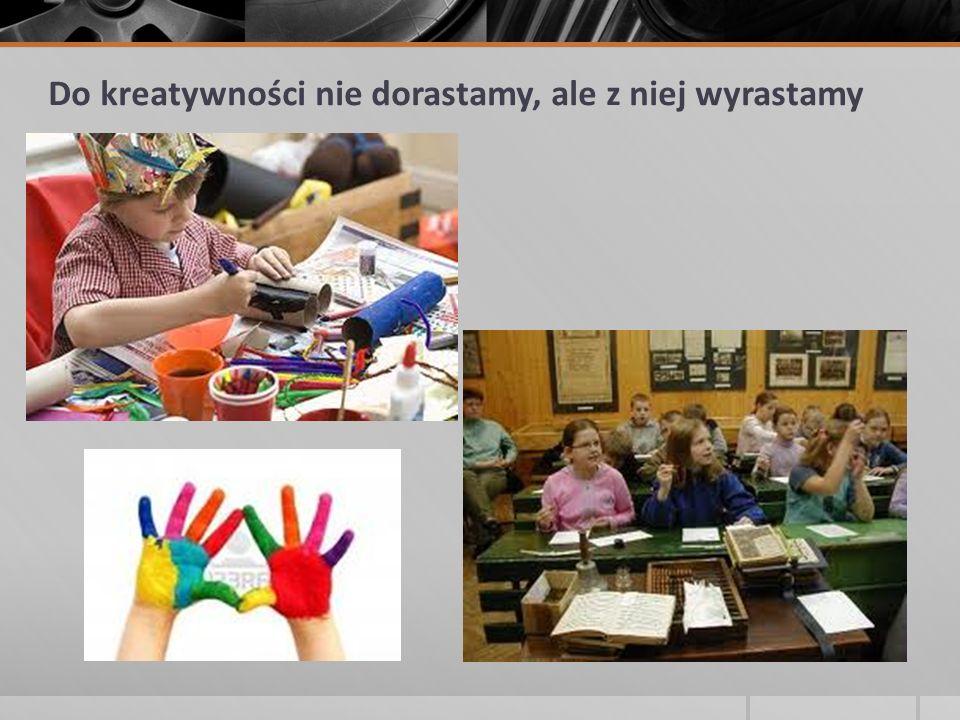 Korzyści, jakie mogą odnieść uczniowie rozwijający twórcze myślenie: większa samodzielność m.in.