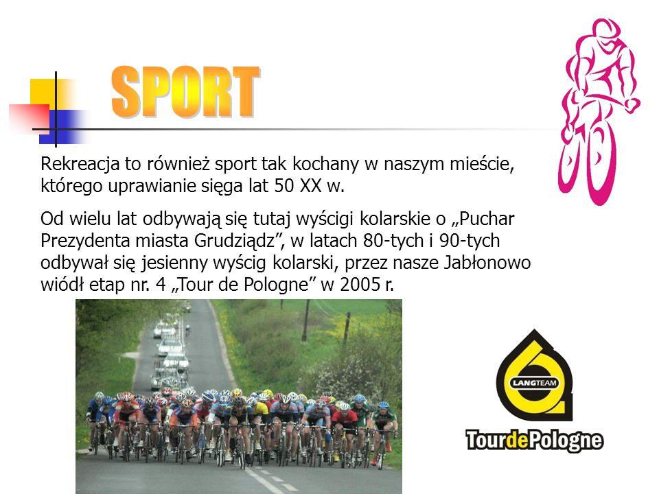 Rekreacja to również sport tak kochany w naszym mieście, którego uprawianie sięga lat 50 XX w. Od wielu lat odbywają się tutaj wyścigi kolarskie o Puc