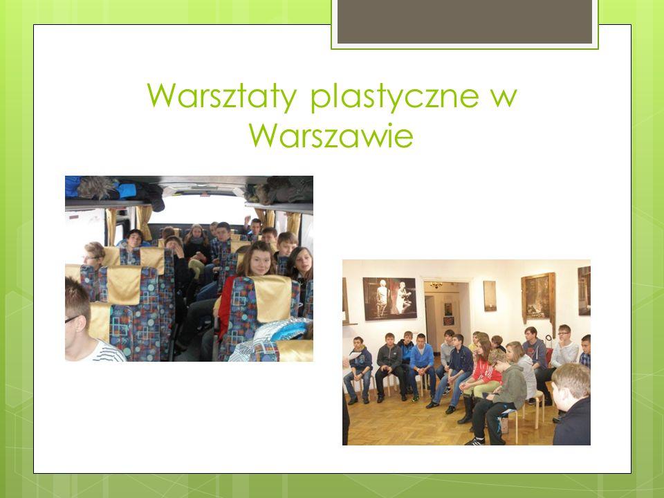 Warsztaty plastyczne w Warszawie