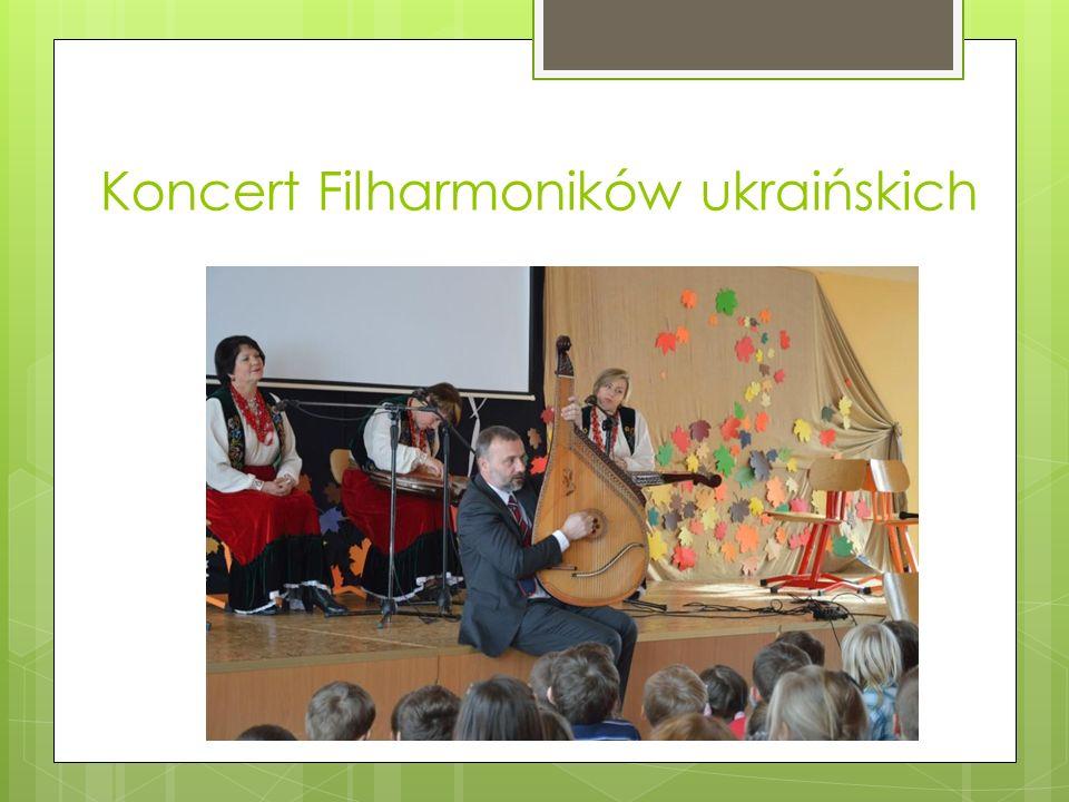 Koncert Filharmoników ukraińskich