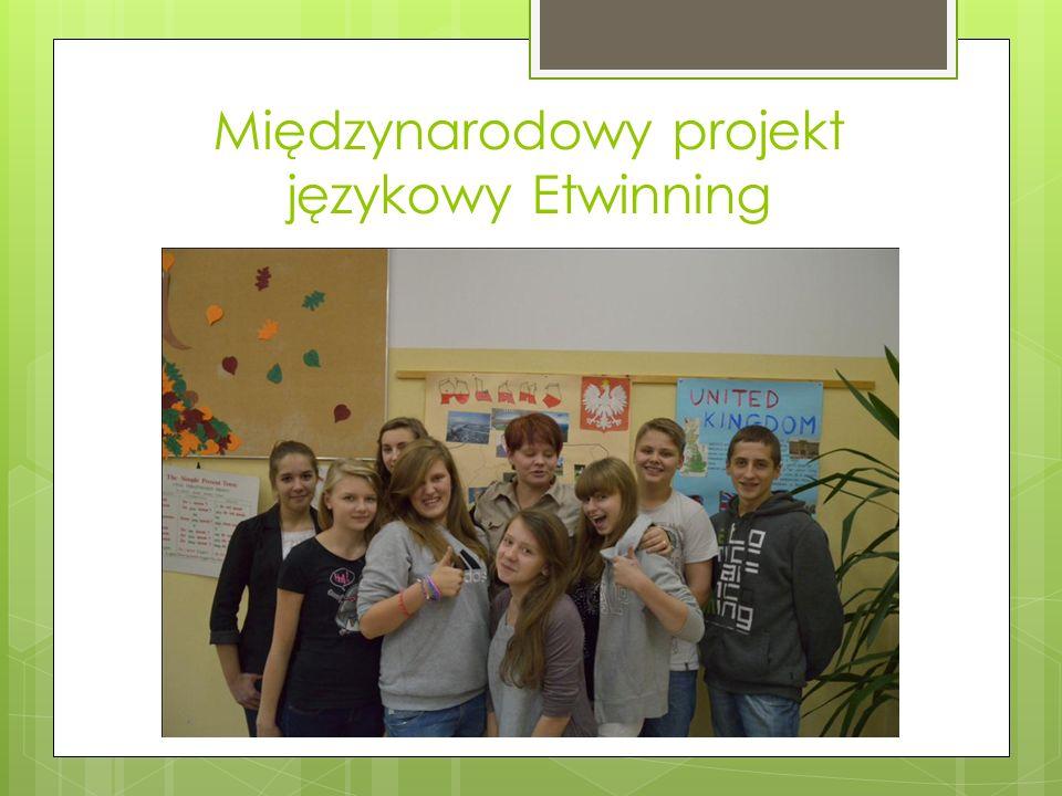 Międzynarodowy projekt językowy Etwinning