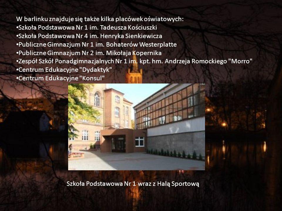 W barlinku znajduje się także kilka placówek oświatowych: Szkoła Podstawowa Nr 1 im.