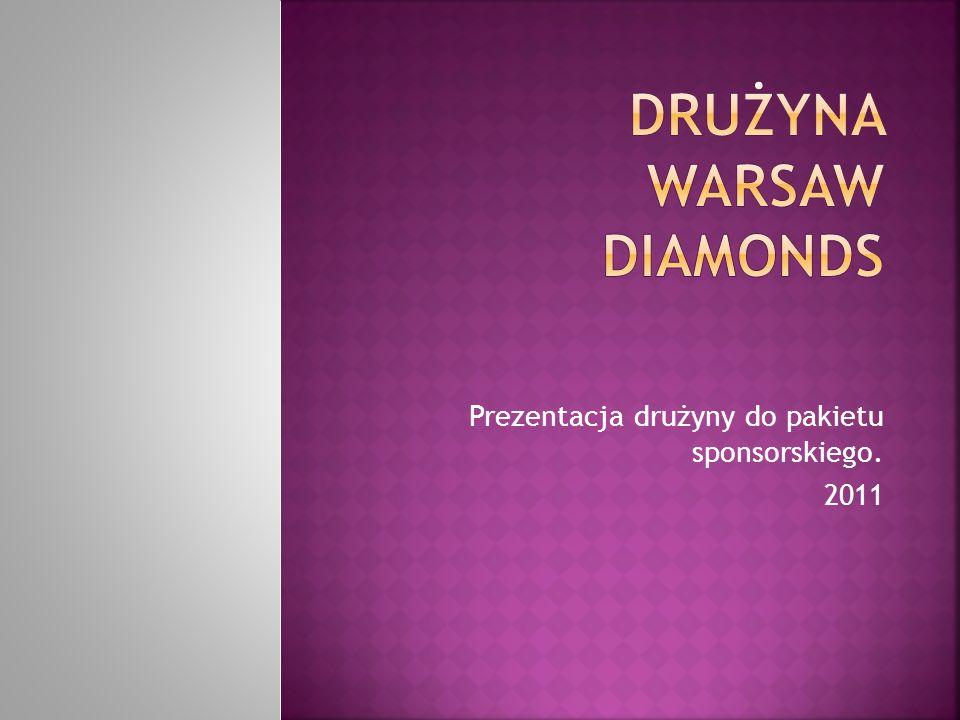 Prezentacja drużyny do pakietu sponsorskiego. 2011