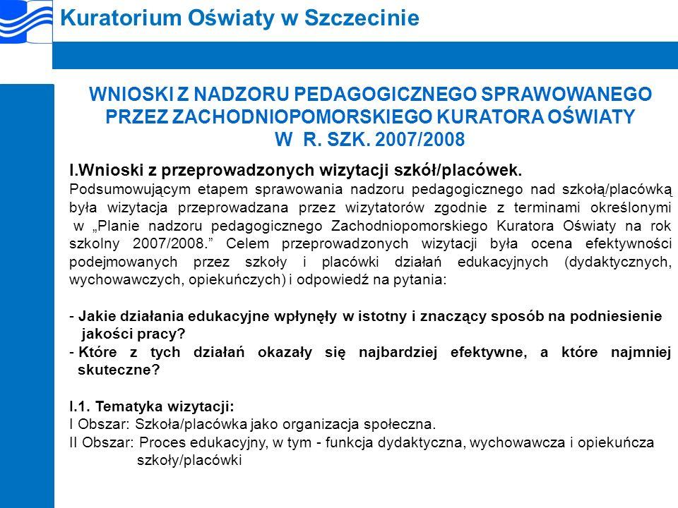 Kuratorium Oświaty w Szczecinie I.3.