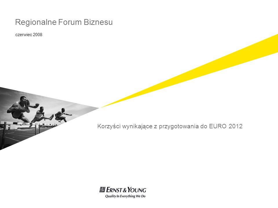 Regionalne Forum Biznesu Korzyści wynikające z przygotowania do EURO 2012 czerwiec 2008