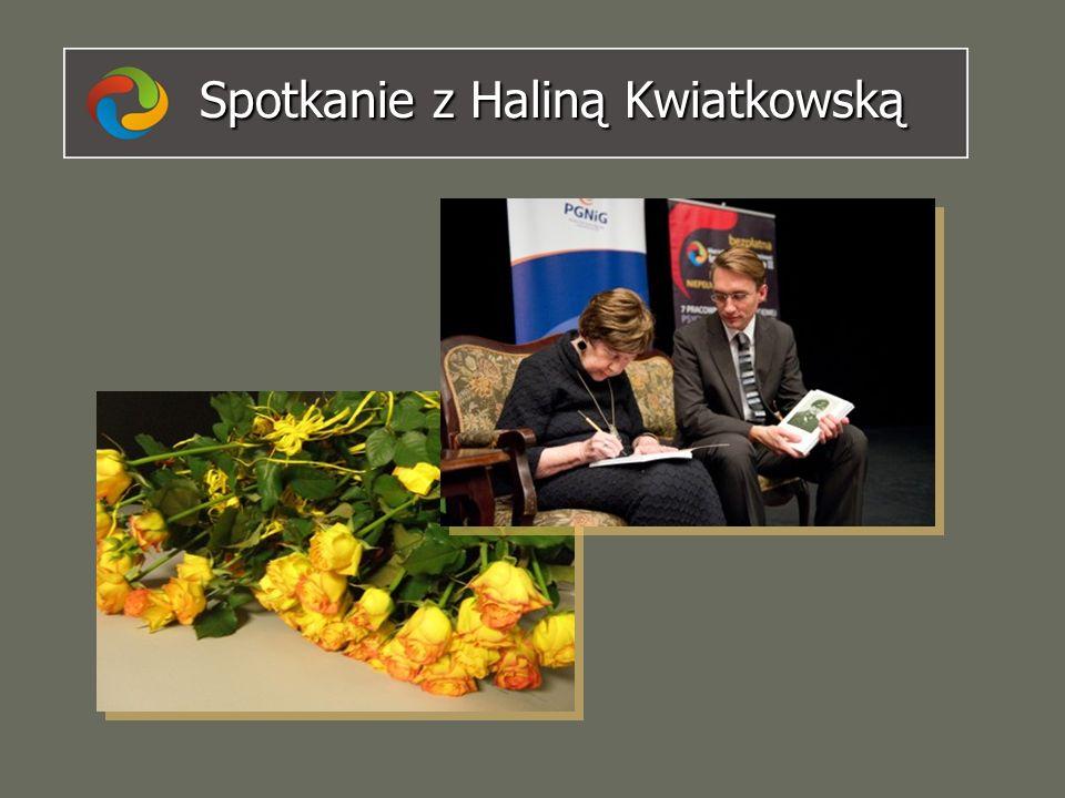 Spotkanie z Haliną Kwiatkowską