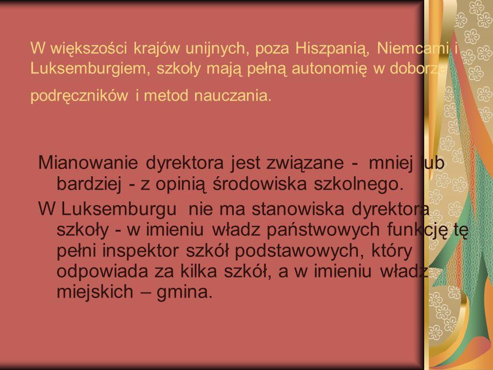 W Polsce brak rozwiązań systemowych, pozwalających stowarzyszeniom rodzicielskim, czy rodzicielsko- nauczycielskim na współzarządzanie edukacją, nie ma systemu rekrutacji do organów zarządzania, pozwalających na ich udział w decydowaniu o szkole.