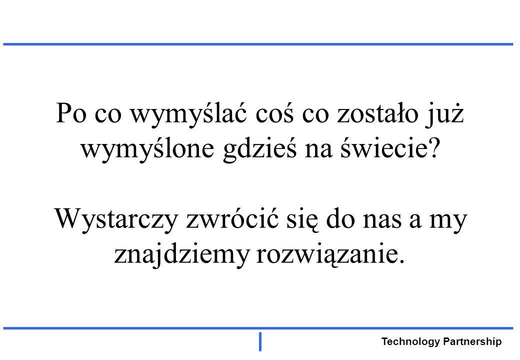 Technology Partnership Projekt TP...