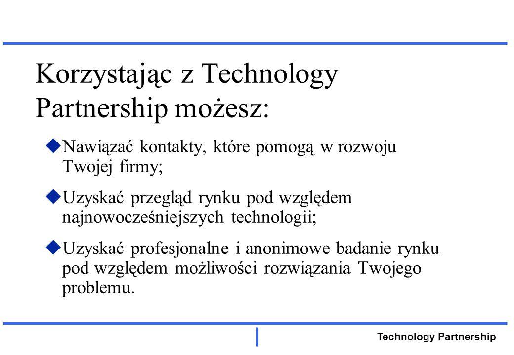 Technology Partnership Dziękujemy za uwagę i poświęcony czas.