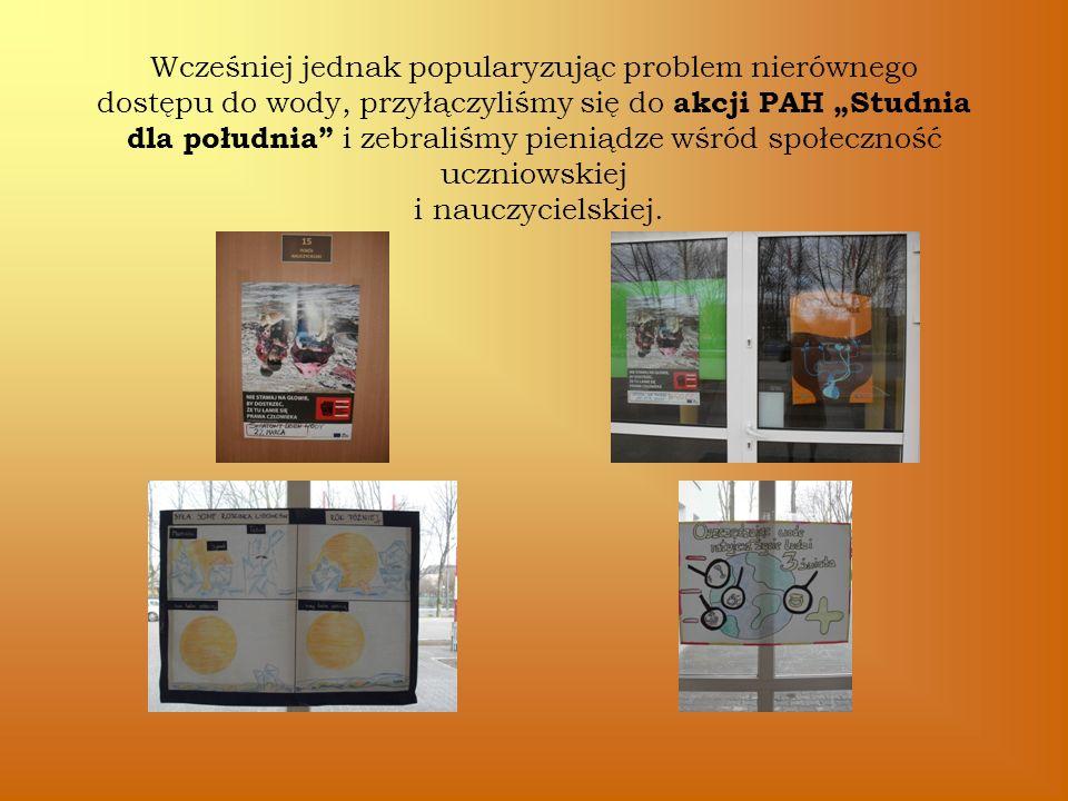 Otrzymaliśmy podziękowania od Polskiej Akcji Humanitarnej a nasi uczniowie zdeklasowali konkurencję w finałowym konkursie wiedzy o edukacji globalnej na UZ.
