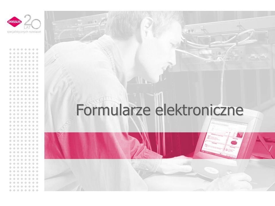 Formularze elektroniczne