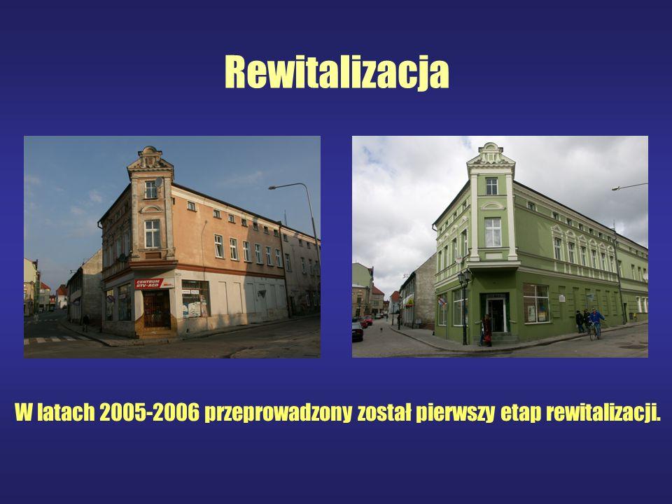 Rewitalizacja W latach 2005-2006 przeprowadzony został pierwszy etap rewitalizacji.
