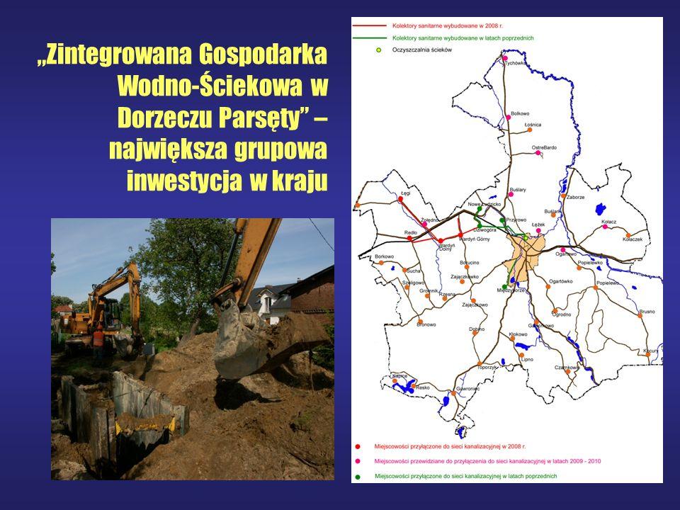 Zintegrowana Gospodarka Wodno-Ściekowa w Dorzeczu Parsęty – największa grupowa inwestycja w kraju