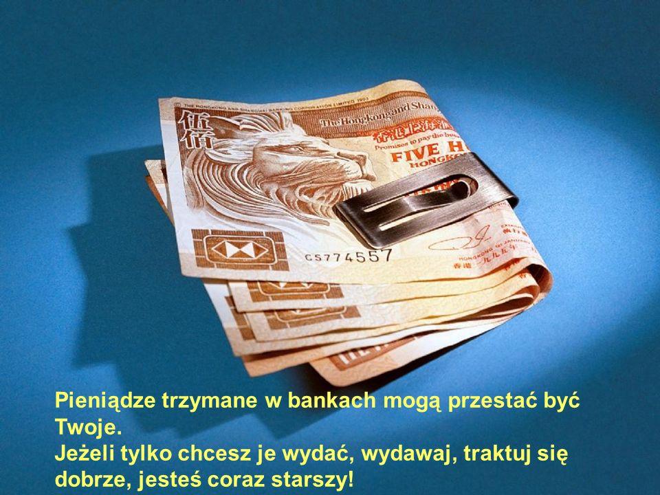 Pieniądze trzymane w bankach mogą przestać być Twoje.
