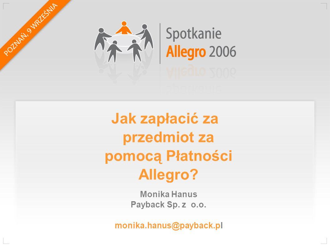 Monika Hanus Payback Sp.z o.o.