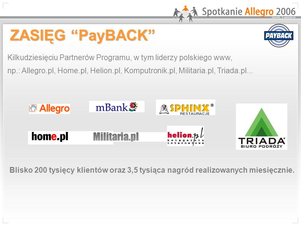 Kilkudziesięciu Partnerów Programu, w tym liderzy polskiego www, np.: Allegro.pl, Home.pl, Helion.pl, Komputronik.pl, Militaria.pl, Triada.pl...