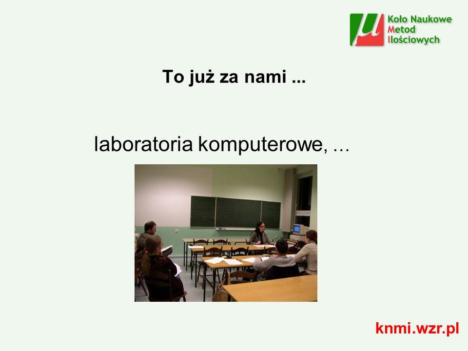 To już za nami... zrealizowane badania ankietowe, konferencje, … knmi.wzr.pl