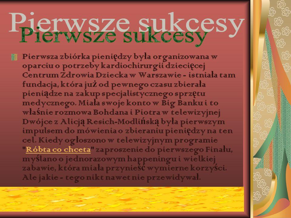 Fundacja Wielka Orkiestra Ś wi ą tecznej Pomocy zosta ł a zarejestrowana w Warszawie 2 marca 1993 roku. Jej za ł o ż ycielami s ą Jerzy Owsiak, Lidia