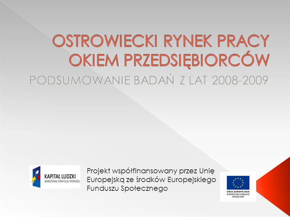 Teren badania: terenie powiatu ostrowieckiego.