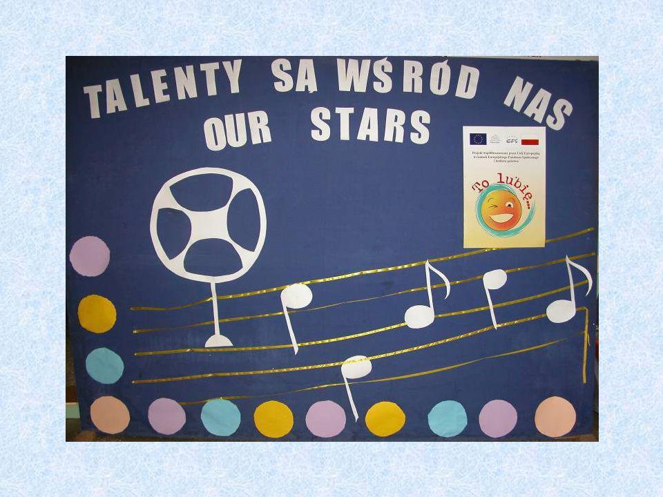 Impreza rozpoczęła się częścią artystyczną pt.Talenty są wśród nas.
