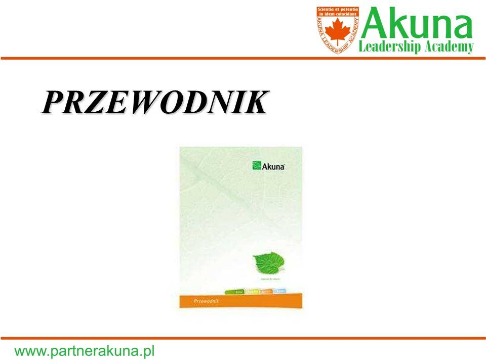 Filozofia Firmy: Pomagać i dzielić się z innymi radością ze wspólnego sukcesu Akuna jest firmą o charakterze międzynarodowym.