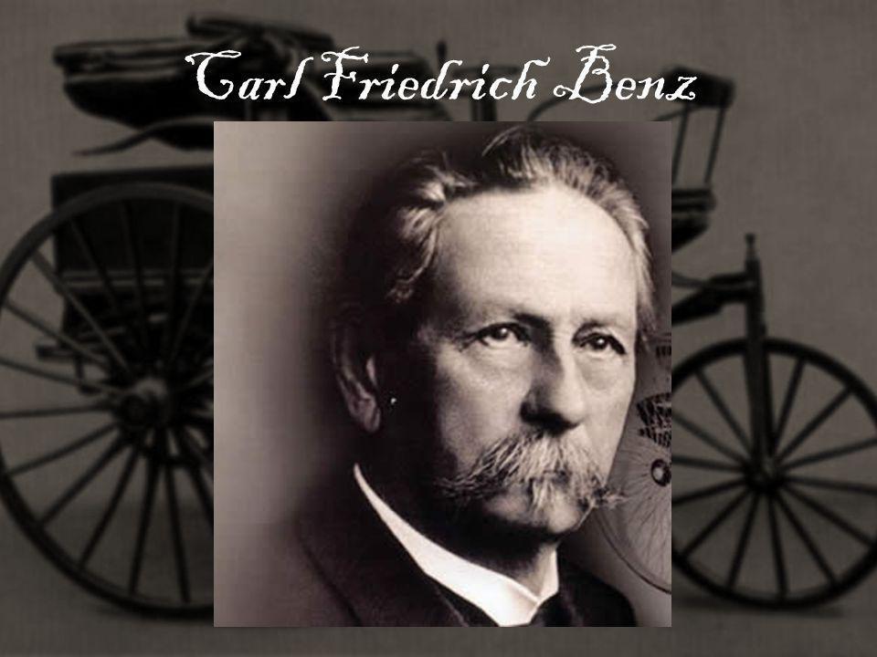 Biografia Carla Carl Friedrich Benz urodził się 25 listopada 1844 roku w Mühlburgu.