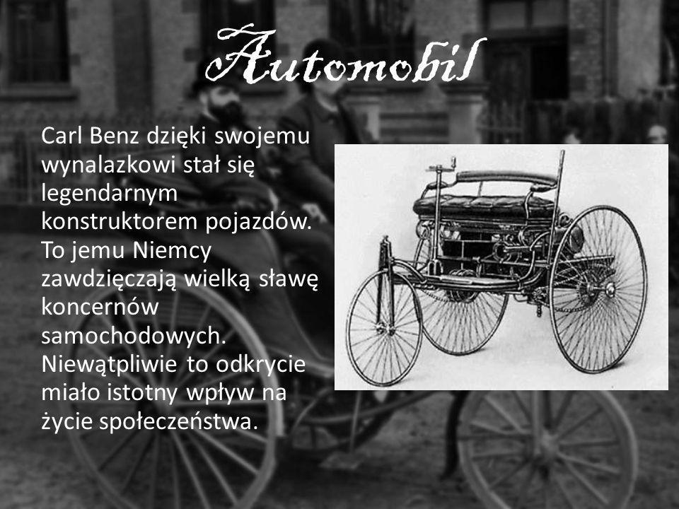 Automobil Carl Benz dzięki swojemu wynalazkowi stał się legendarnym konstruktorem pojazdów. To jemu Niemcy zawdzięczają wielką sławę koncernów samocho