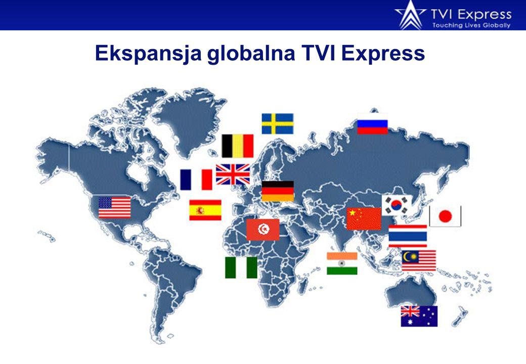 Ekspansja globalna TVI Express